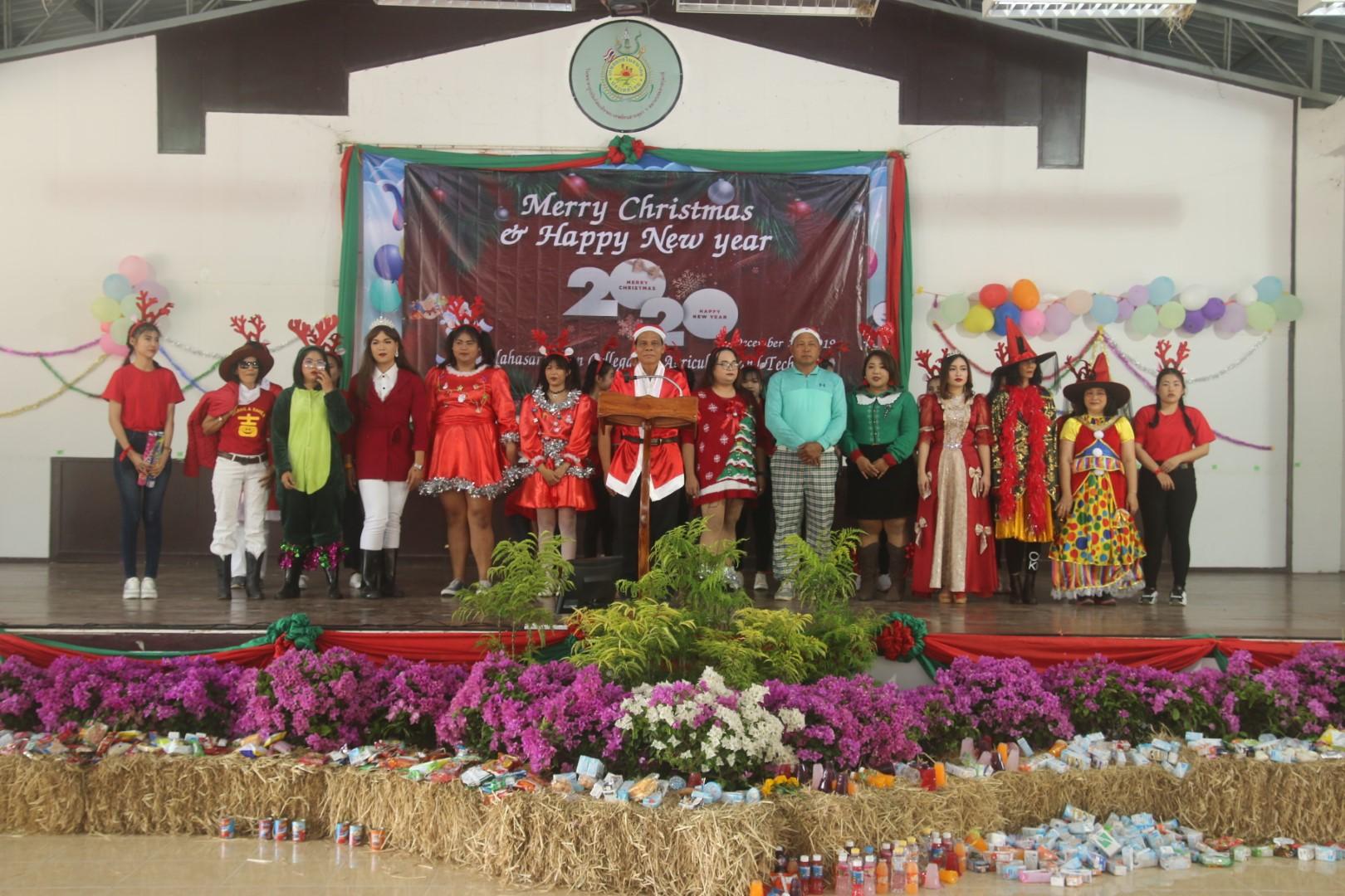 ภาพจิกรรมการ งานคริสมาส 25 ธันวาคม 2562